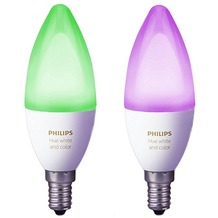Philips Hue White and Colour Ambiance E14 Doppelpack