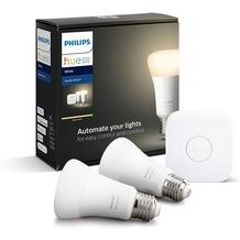 Philips Hue White Starter Kit 2x E27, 1 x Bridge