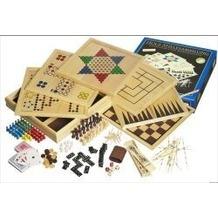 Philos-Spiele 3102 - Holz-Spielesammlung 100
