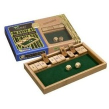 Philos-Spiele 3271 - Shut The Box aus Bambus