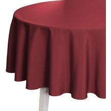 pichler COMO Tischdecke burgund 170 cm rund