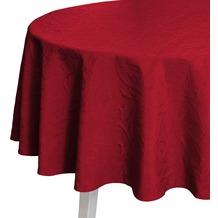 pichler CORDOBA Tischdecke burgund 170 cm rund