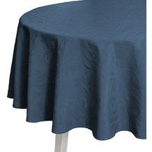 pichler CORDOBA Tischdecke indigo 170 cm rund