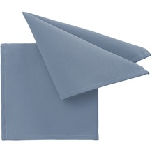 pichler Serviette COMO blau 40 x 40 cm