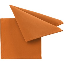 pichler Serviette COMO orange 40 x 40 cm
