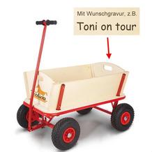 Pinolino Bollerwagen 'Maxi' MIT GRAVUR (z.B. Namen)