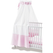 Pinolino Himmel für Kinderbetten 'Vichy-Karo', rosa