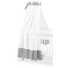 Pinolino Himmel für Kinderbetten, weiß/grau