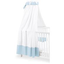 Pinolino Himmel für Kinderbetten, weiß/hellblau