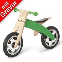 Pinolino Holz-Laufrad 'Jogi' für Kinder MIT GRAVUR (z.B. Namen)