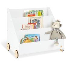 Pinolino Kinder-Bücherregal mit Rollen 'Lasse'