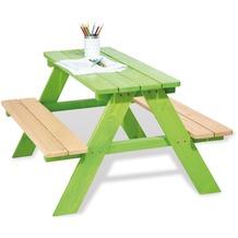 Pinolino Kindersitzgarnitur 'Nicki für 4', grün