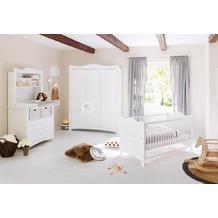 Pinolino Kinderzimmer 'Florentina' breit groß, inkl. breitem Regalaufsatz