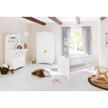 Pinolino Kinderzimmer 'Florentina' breit, inkl. Regalaufsatz