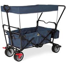 Pinolino Klappbollerwagen 'Paxi dlx Comfort' mit Bremse, marineblau