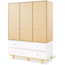 Pinolino Kleiderschrank 'Boks' groß mit 3 Türen