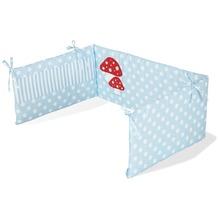 Pinolino Nestchen für Kinderbetten 'Glückspilz', hellblau