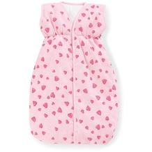 Pinolino Puppenschlafsack 'Herzchen', rosa