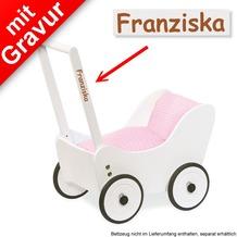 Pinolino Puppenwagen 'Maria' MIT GRAVUR (z.B. Namen)
