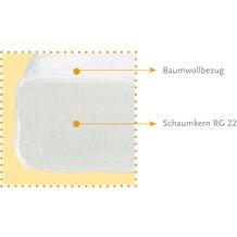 Pinolino Matratze für Kinderbetten 'Schaumkern Standard', 140 x 70 cm
