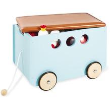Pinolino Spielzeugkiste mit Rollen 'Jim', mint