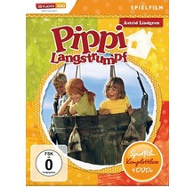 Pippi Langstrumpf Spielfilm-Box (4DVDs) [DVD]