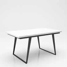 """PLAYBOY Ausziehbarer Esstisch """"CLAIRE"""" 160 - 210 cm, runde Ecken"""