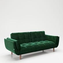"PLAYBOY Bettsofa ""SCARLETT"" grün Couch"