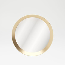 "PLAYBOY runder Spiegel ""GRACE"" 80 cm, Metallrahmen"