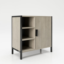 """PLAYBOY Waschbeckenunterschrank """"JAYDEN"""" Wild Oak Holzdekor, 60x60 cm"""