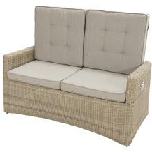 Ploß Comfort Speise-/ Loungesofa Sahara, 2- Sitzer Gartenbank