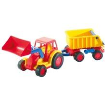 Polesie WADER Basics Traktor m. Schaufel u. Anhä