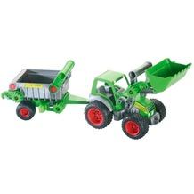 Polesie WADER Traktor m. Fronts. u. Kippanhänger