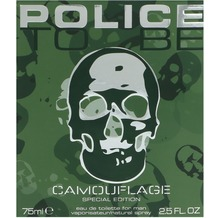Police To Be Camouflage For Man Edt Spray  75 ml
