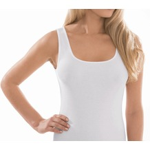 Pompadour Achseltop Organic Cotton - GOTS weiß 38