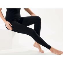 Pompadour Leggings Organic Cotton - GOTS schwarz 42