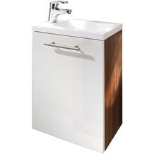 Posseik Handwaschplatz Alexo walnuss-weiss