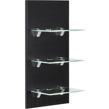 Posseik LED-Panel VIVA mit 3 Glasablagen schwarz
