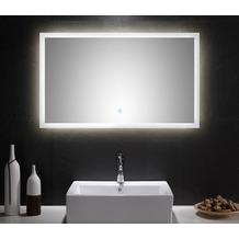 Posseik LED Spiegel 100x60 cm mit Touch Bedienung EEK: F