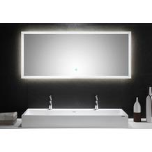 Posseik LED Spiegel 140x60 cm mit Touch Bedienung