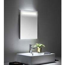 Posseik LED Spiegel 45x60 cm mit Touch Bedienung
