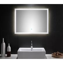 Posseik LED Spiegel 80x60 cm mit Touch Bedienung