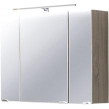 Posseik Spiegelschrank multi-use sonoma-eiche 90 x 62 x 17