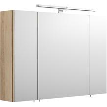 Posseik Spiegelschrank - multi-use - Eiche-Hell groß