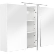 Posseik Spiegelschrank multi-use weiss 110 x 68 x 16