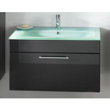 Posseik Waschplatz Heron anthrazit - Waschbecken grünlich