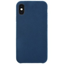 Power Support Ultrasuede Air Jacket Apple iPhone X blau