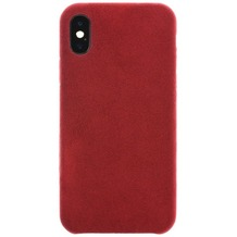 Power Support Ultrasuede Air Jacket Apple iPhone X rot