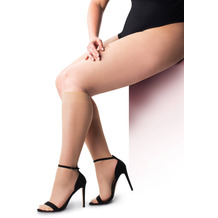 Pretty Polly Curves 15D Sheer Cooling Knee Hights - 2 Paar Nude OS