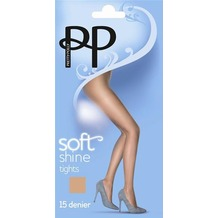 Pretty Polly Everyday Plus 15D Soft Shine Tights Nude - ML